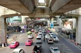 Traffic where ever you go.