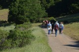 Our Group on the Fire Road