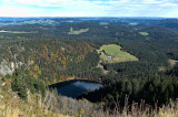 View from Feldberg mountain over Lake Feldsee in eastern direction