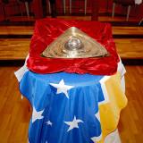 Simbolo Ojo del Padre en Schoenstatt Punta Arenas - Sep 2012