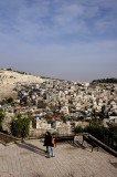 Toward The Mount of Olives