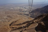 View from The Masada Cable Car
