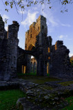 Llanthony Priory - run out of light