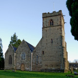 Colwall church from the west