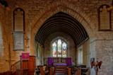 chancel arch & chancel