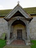 Porch of Berrow Church