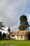 Besford Church and churchyard