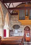 south nave arcade and organ