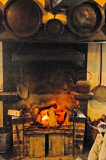 highly welcome log fire