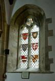 heraldic window