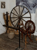 spinning wheel and ?