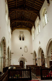 the nave looking towards tower