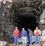 Group shot at the South end of CNO&TP tunnel #3