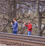 A pair of modern day rebels...young guns...on the wrong side of the tracks. John Owens and Jacob Gwinn at Palm KY