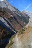 Entering Derborence Valley
