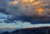 Clouds over the Saleve Mountain
