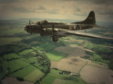 B17 .one engine out returning to Biggin.Photoshop.jpg