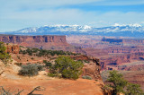 Dead Horse Point and La Sal Mountains