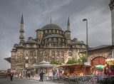 Skyfall film set and Yeni Camii (New Mosque)