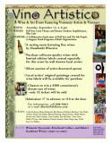 Artistico Vino Poster