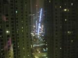 At night - many lights