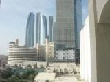 Near or at the Hilton Abu Dhabi