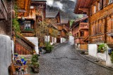 Cobbles and chalets, Brienz