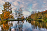Lake and island, Stourhead