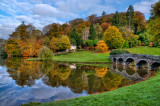 Turf bridge, Stourhead