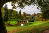 Last look back, Stourhead
