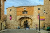 City gates, Lerma, Spain