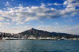 Sea, clouds and mountain, Puerto Banus
