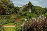 Gardens and outbuilding, Lanhydrock, Cornwall