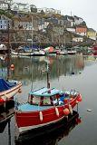 Red'n'blue boat, Mevagissey, Cornwall