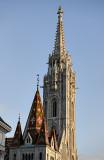 Mátyás church in sweet light
