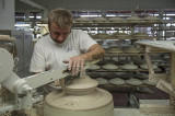 Manufactory: On the pottery wheel