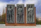 Béla Kun, Jenő Landler, Tibor Szamuely Memorial