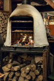 Langos wood-fired oven