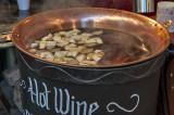 Yum, hot mulled wine!