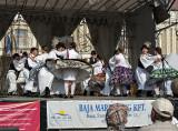 Festival performance, couple's dance