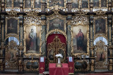 Serbian Orthodox church, sanctuary detail