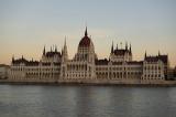 Last rays on Parliament
