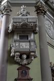 Vác cathedral, pulpit