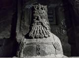 King Kazimierz in rock salt