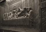 Chapel of St. Kinga, 'Last Supper' in salt