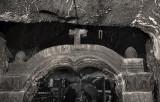 Very old chapel in rock salt