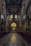 Jesuit church, main aisle