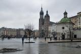 Market Square on a rainy day