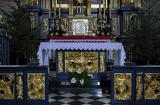 Church of St. Barbara, high altar