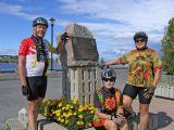 Tour du lac St-Jean en vélo